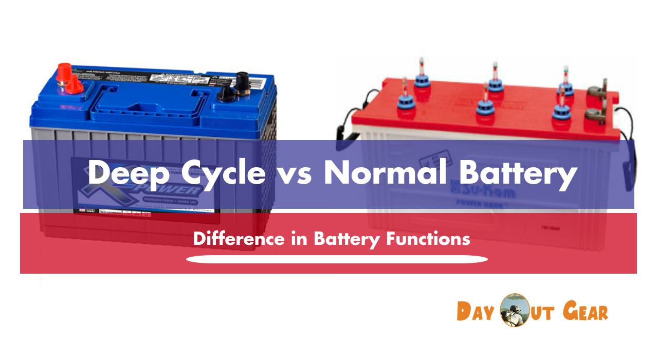 Deep Cycle vs Normal Battery