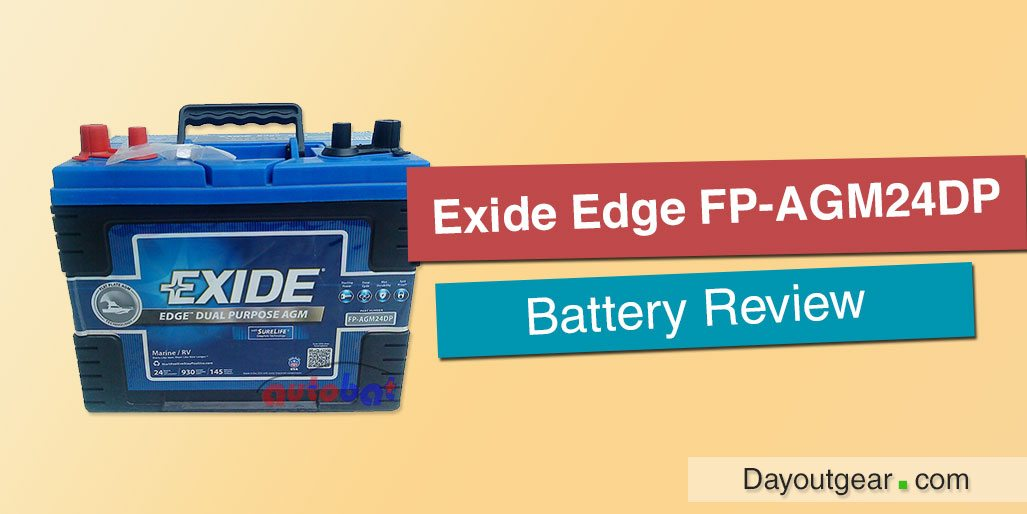 Exide Edge FP-AGM24DP Trolling Motor Battery Review