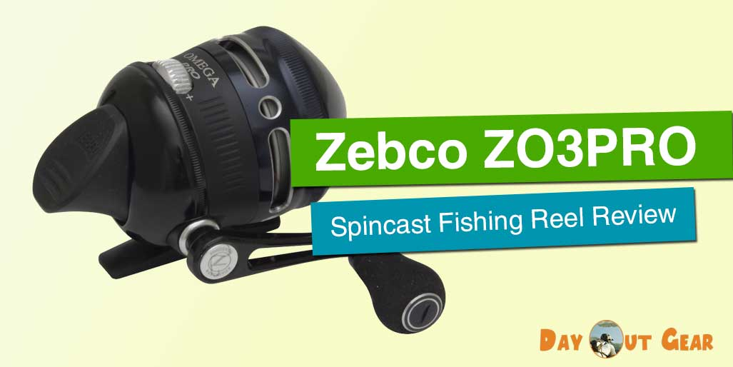 Zebco Omega ZO3PRO Spincast Fishing Reel Review